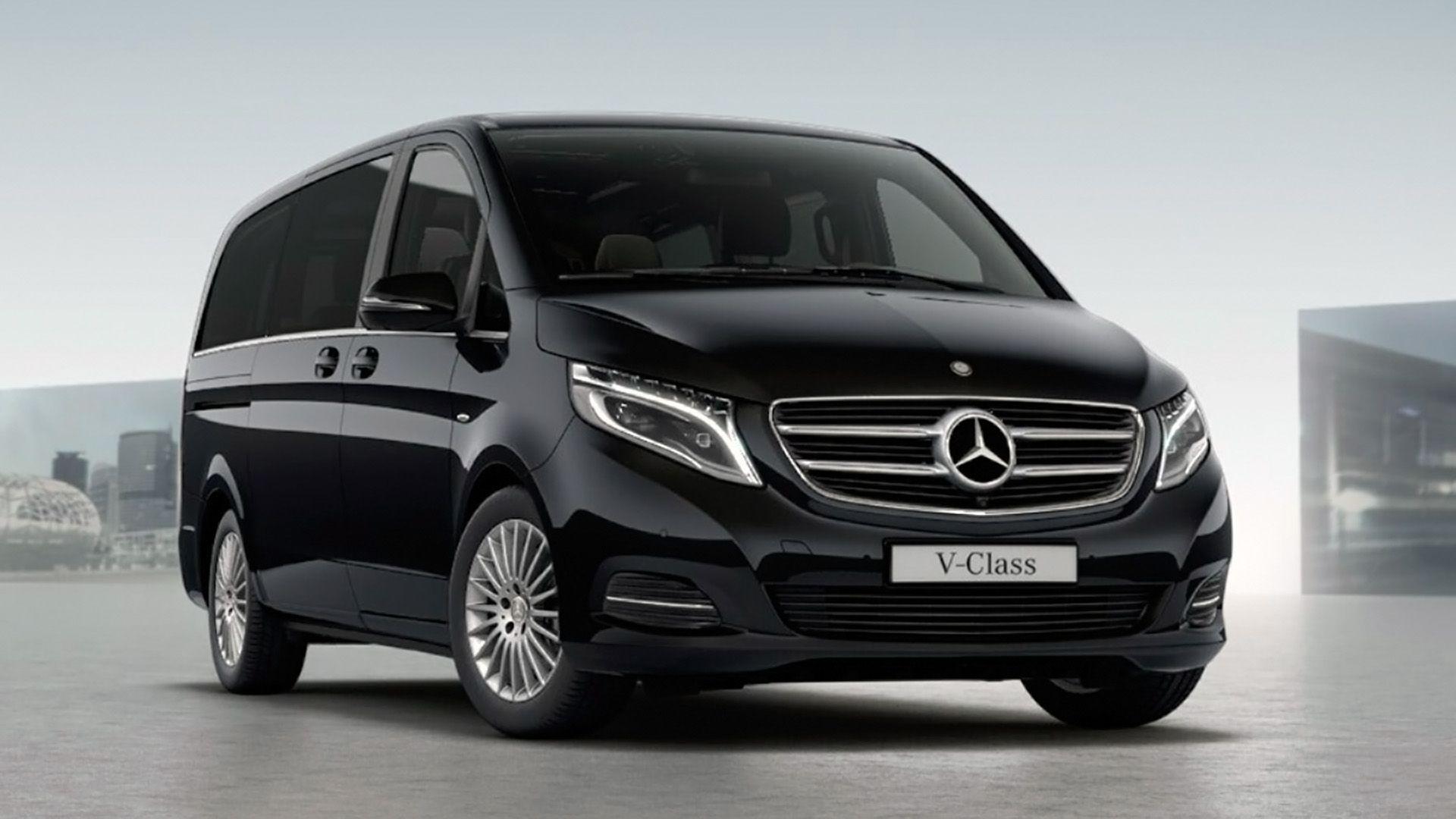 Mercedes Benz V Class minivan