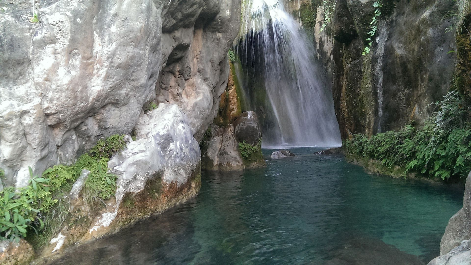 Guided Tour Algar Waterfalls