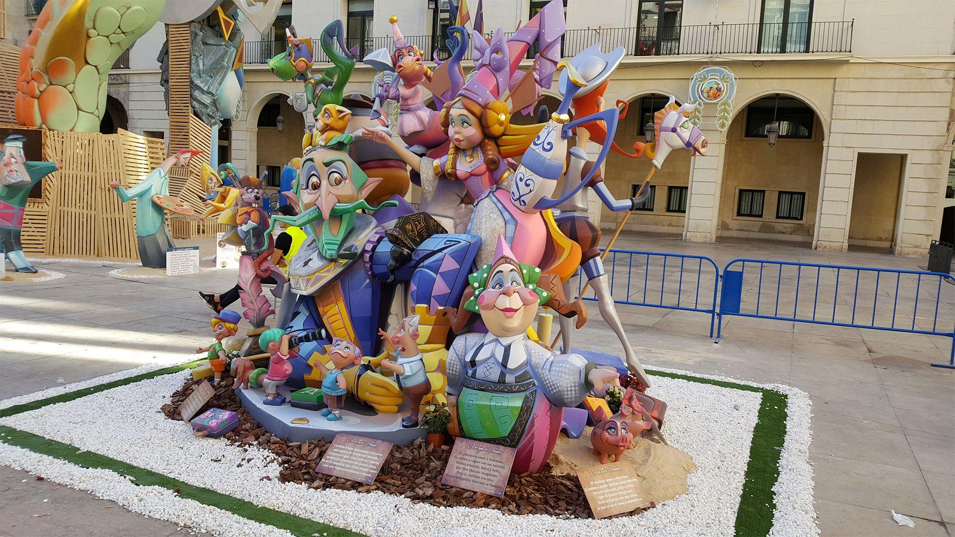 Alicante Bonfires of Saint John festival