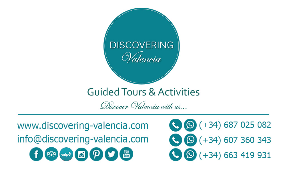 Business Card Discovering Valencia