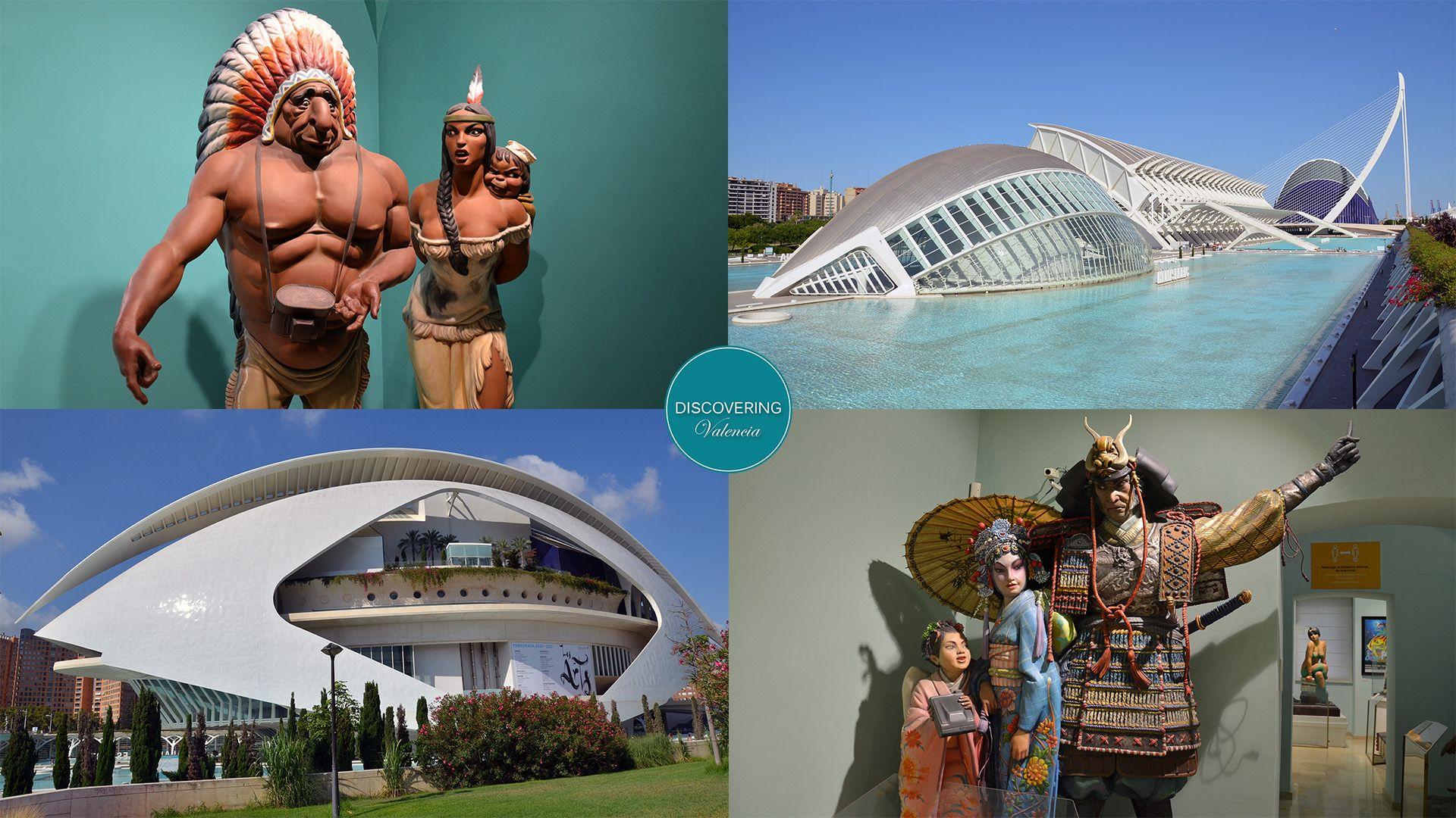 Nueva visita guiada diaria Valencia - Ciudad de las Artes y las Ciencias y Museo Fallero