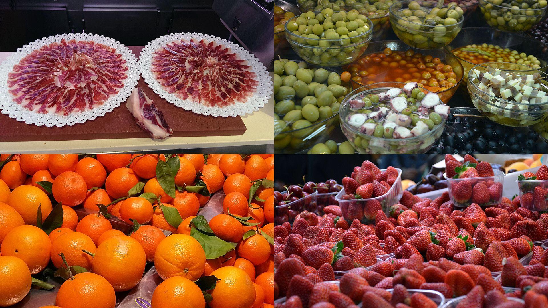Gastronomic tour Valencia - the Central Market