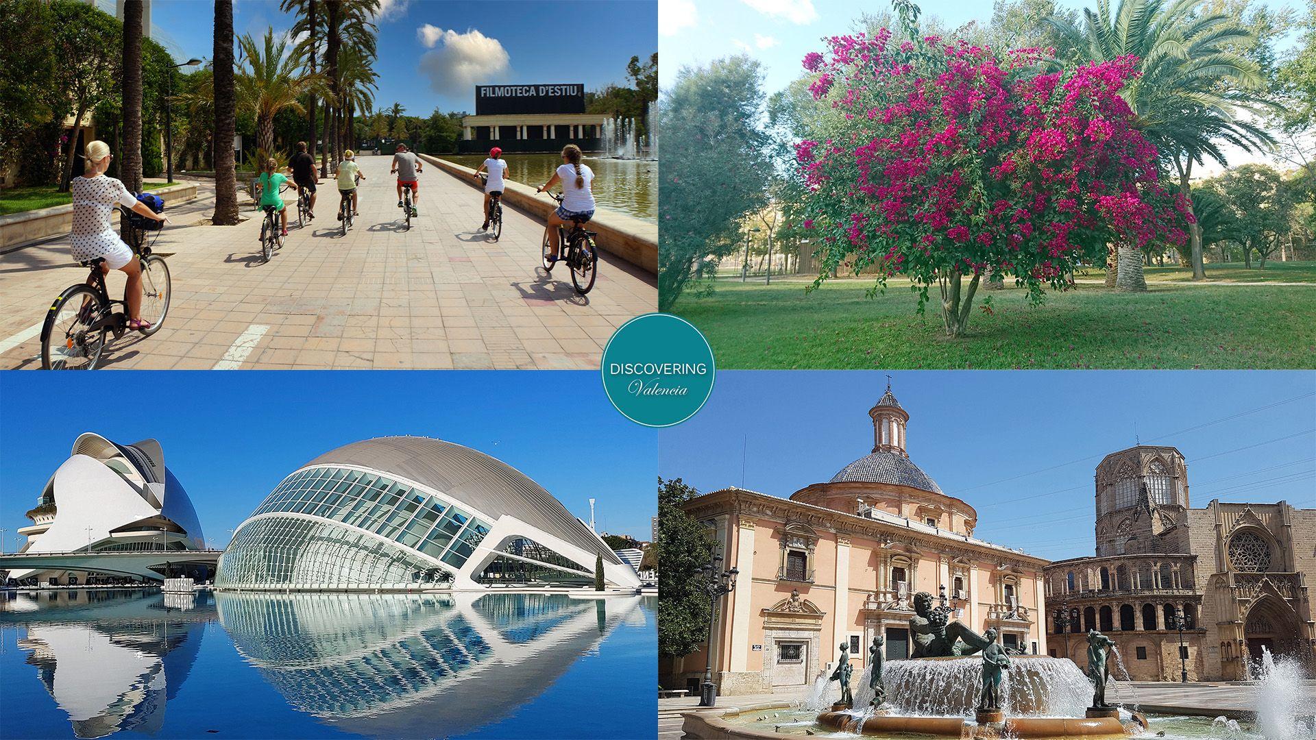 Nueva visita guiada en bicicleta Valencia - del pasado al futuro