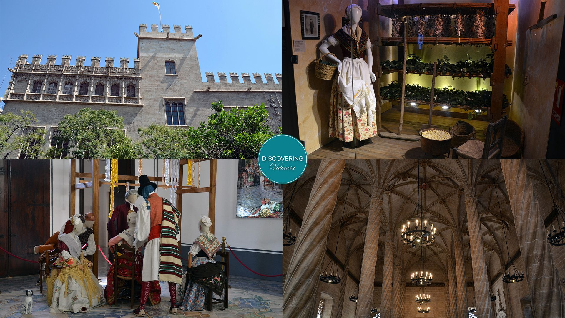 New daily guided tour Valencia Silk Museum and Silk Exchange